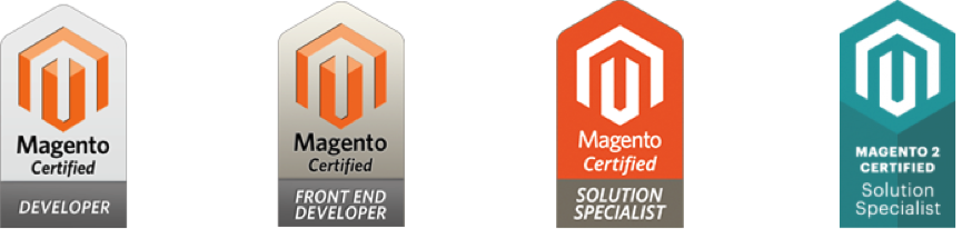 Magento Developer & Solution Specialist Certifications