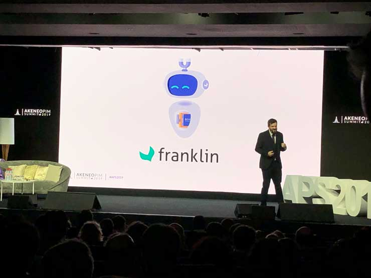 Franklin - L'intelligence Artificiel selon Akeneo